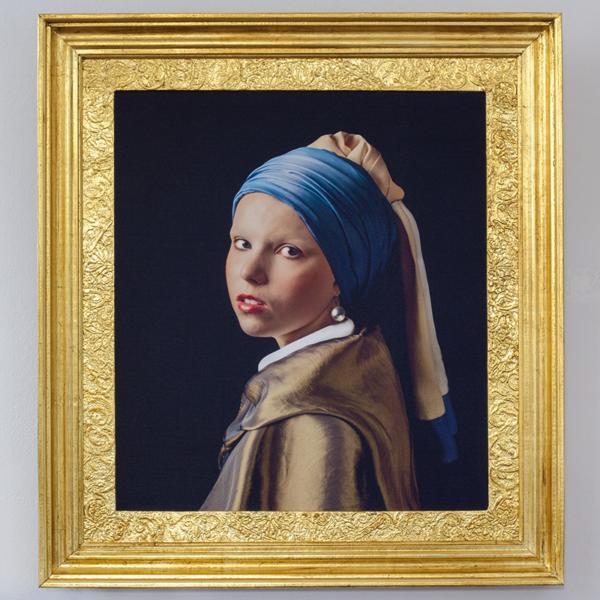Dziewczyna z Perłą wg. Jana Vermeera
