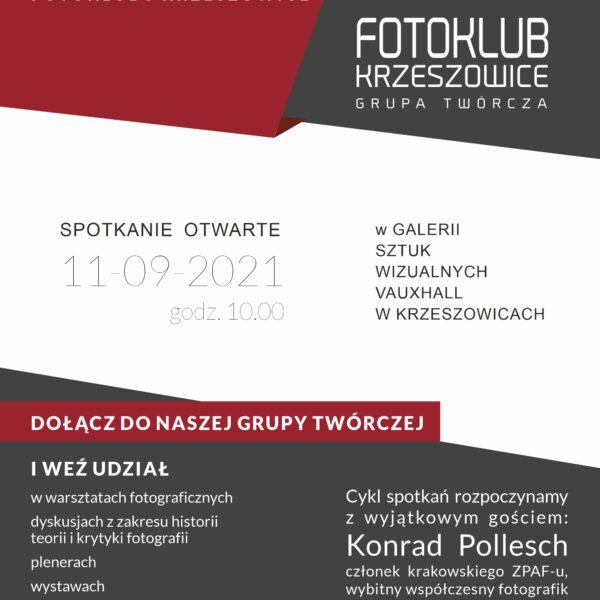 Nowy sezon Fotoklubu Krzeszowice 2021/2022